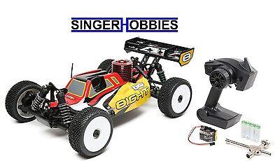 (LOSI 1/8 8IGHT 4WD Radio Control Nitro Buggy RTR LOS04010 HH)