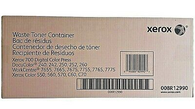 2 Genuine Xerox Waste Toner Container 008r12990 Dc 240 250 260 Color 550 560 570