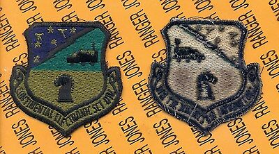 Electronics Section (USAF Air Force Continental Electronics Section OD Green & Black patch )