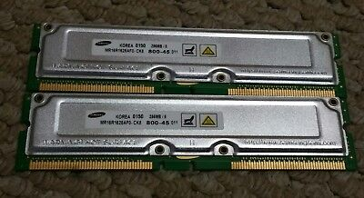 Samsung 512MB (256MB x 2) MR16R1628AFO-CK8 800-45 RAM Computer Memory Module -