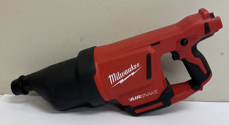 Pre Owned - Milwaukee 2572-20  Air Snake Cordless Drain Cleaner