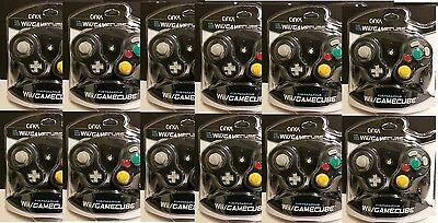 12 Piece Wholesale Lot Black Cirka Controllers For Ninten...
