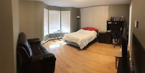 Furnished MASTER bedroom sublet from May to June.