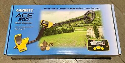 GARRETT ACE 200i METAL DETECTOR - Brand New, Never Used, Unwanted Xmas Gift.