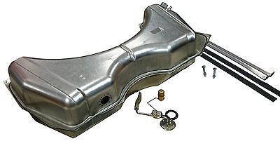 "59 & 60 Chev Station wagon gas tank & Stainless 3/8"" fuel sender & Strap kit"
