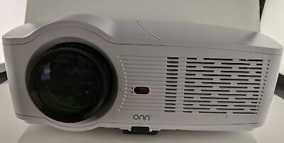 Onn Portable Projector 720p 1080p 3100 Lumen - NO POWER ADAPTER