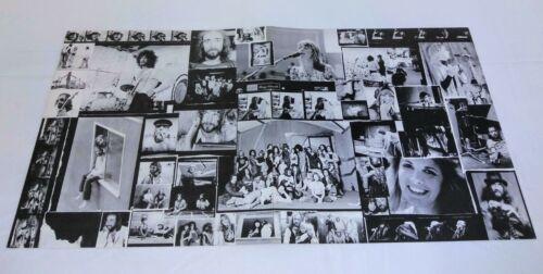 FLEETWOOD MAC Lp Album Insert From 1977 RUMORS Record~Vintage Lyrics Poster