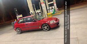5 speed manual Honda Civic