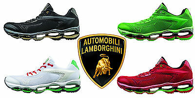NEW NIB Original Mizuno Men's Wave Tenjin Lamborghini Running Reax Shoes 410750