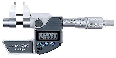 345-350-30 Mitutoyo Inside Micrometer .2 - 1.2