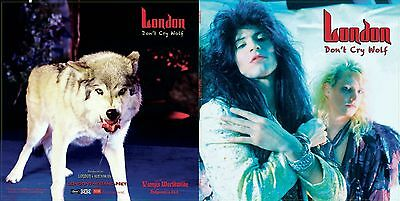 Free London   Live  Cd With Purchase Of  Dont Cry Wolf  Cd  Kim Fowley Produced