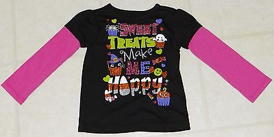 Infant & Toddler Girls Halloween Long Sleeve T-Shirts