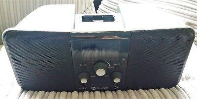Boston Horizon Duo-I AM/FM Stereo Clock Radio Ipod iPhone MP3 Speaker Dock