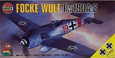 Airfix 1/48 Focke Wulf FW 190A-8 German Luftwaffe NIB