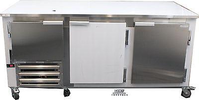 Coolman 2-12 Door Low Boy Worktop Freezer 72