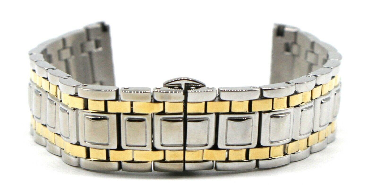Swiss Legend 20mm Metallarmband Edelstahl vergoldet Colosso