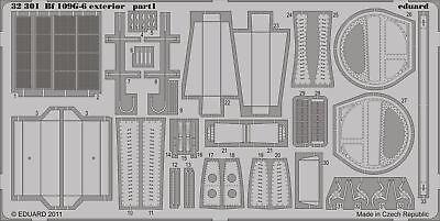 Eduard Accessories 32301 - 1:32 Bf 109G-6 Exterior For Trumpeter - Ätzsatz - Neu
