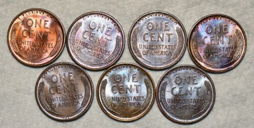 Brilliant Uncirculated 1909-P VDB Lincoln Cent, Beautiful specimens