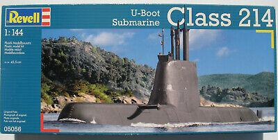 Gebraucht, REVELL 05056 - U-Boot Class 214 - Submarine - 1:144 - Modellbausatz - Model Kit gebraucht kaufen  Schorndorf