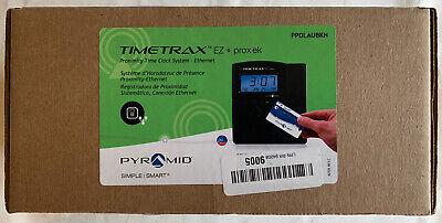 Pyramid Time Trax Ez System Time Clock Digital Lcd Ppdlaubkn