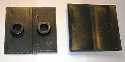 1x Platte Gleitplatte passend für STAHLMANN 7T Holzspalter liegend