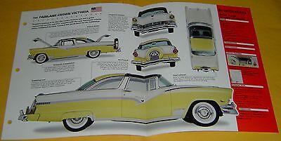 Ford Crown Victoria Specs - 1956 Ford Fairlane Crown Victoria 312 ci 225 hp IMP Info/Spec/photo 15x9