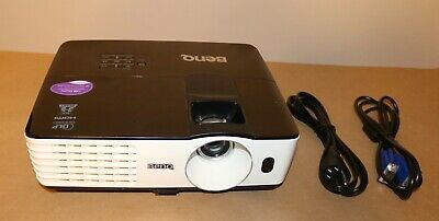 BenQ MX660P DLP Projector 3000 ANSI HDMI  3D.Lamp Hours used 3172 to 3248 Hours