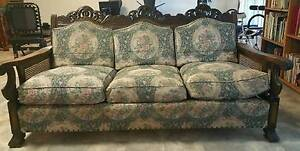 Antique Jacobean Lounge Suite Highfields Toowoomba Surrounds Preview