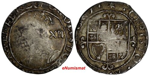 Great Britain England Charles I (1925-49) Silver ND(1640-1) Shilling 5,86g.KM110