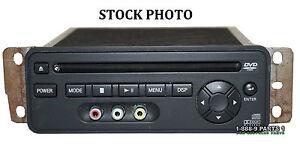 DVD PLAYER ENTERTAINMENT NISSAN QUEST ARMADA PATHFINDER INFINITI QX FX S414108