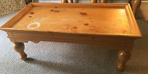 Coffee Table & 2 end tables - real wood