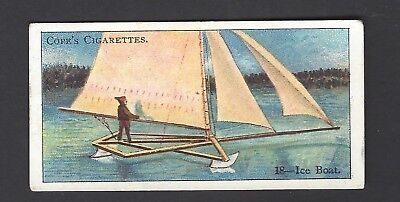 COPE - BOATS OF THE WORLD - #18 ICE BOAT