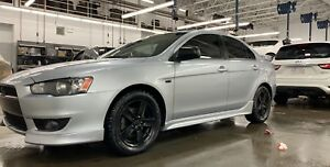 2009 Mitsubishi Lancer GT Silver | Studded Winters | Summers