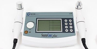 Current Solutions Dq9275 Soundcare Plus Ultrasound Therapy Device W 2 Heads