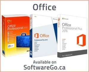 Office Professional Plus 2010, 2013 & 2016 - SoftwareGo