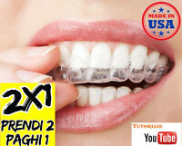 2 X Bite Denti Unico Made Usa Bruxism Bruxismo Stop Russare Bite Notte Il 12 -  - ebay.it