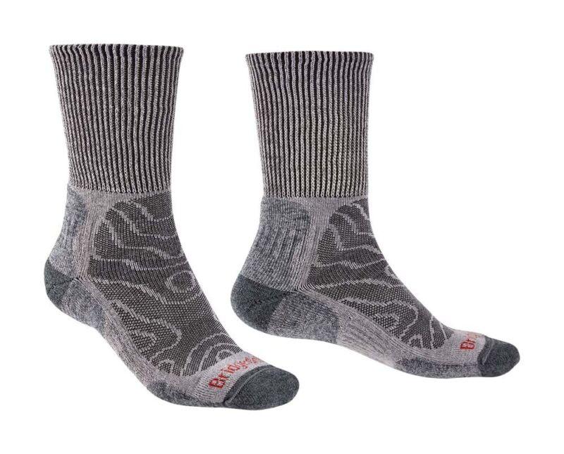 Bridgedale Hike Lightweight Merino Comfort Men Socks - Grey