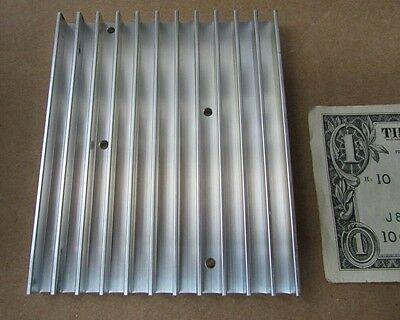 Large Aavid Thermalloy Aluminum Heatsinks 4.303 X 3.534 X .402 Power Amplifier