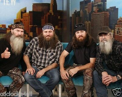 Duck Dynasty CAST 8 x 10 GLOSSY Photo Picture IMAGE #2