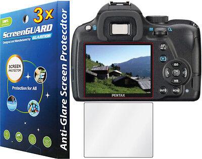 3x Anti-Glare LCD Screen Protector Film for Pentax RicohDSLR K50 K-50 K-500 K500