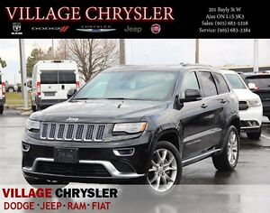 2016 Jeep Grand Cherokee Summit,Blind spot monitor,Dual DVD,Pano