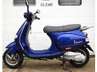 2004 PIAGGIO VESPA ET4 BLUE 125 SCOOTER