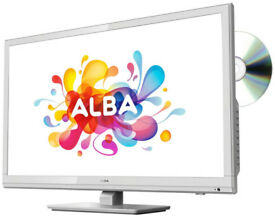 Alba 24 Inch HD Ready TV/ DVD Combi - White (BRAND NEW & SEALED)