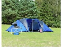 6 man tent used once