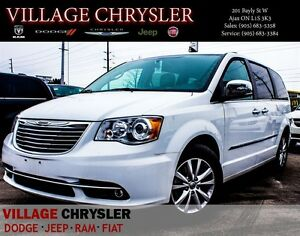 2016 Chrysler Town & Country Limited Platinum Dual DVDs,Trailer