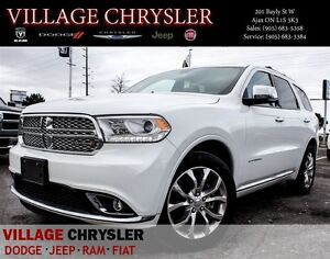 2016 Dodge Durango Citadel Nav, Pwr/Sunroof, Trailer Tow Group,