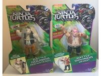 "Teenage Ninja Mutant Turtles Battle Sounds ""Rock Steady and Bepop"" ***BRAND NEW***"