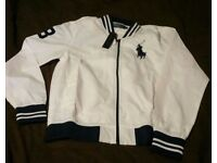 Mens White & Blue Ralph Lauren jjacket BNWT