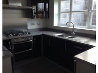 Symphony Kitchen Units - High Gloss Black