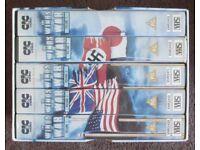 The Winds of War VHS box set.